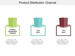 Product Distribution Channel Ppt Powerpoint Presentation Professional Files Cpb