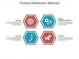 Product Distribution Methods Ppt Powerpoint Presentation Styles Icons Cpb
