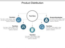 Product Distribution Ppt Powerpoint Presentation Portfolio Clipart Images Cpb