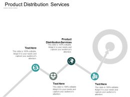 Product Distribution Services Ppt Powerpoint Presentation Portfolio Topics Cpb