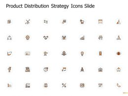 Product Distribution Strategy Icons Slide Growth Gears Ppt Powerpoint Presentation Gallery Display
