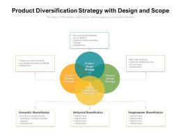 Product Diversification Strategy With Design And Scope