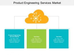Product Engineering Services Market Ppt Powerpoint Presentation Pictures Template Cpb