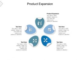 Product Expansion Ppt Powerpoint Presentation Icon Graphics Cpb