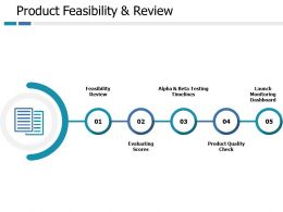 Product Feasibility And Review Ppt Pictures Graphics Download