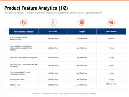 Product Feature Analytics Baseline Requirement Gathering Methods Ppt Powerpoint Presentation Summary Slides