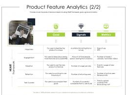 Product Feature Analytics Engagement Product Requirement Document Ppt Sample