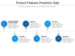 Product Features Predictive Data Ppt Powerpoint Presentation Icon Grid Cpb
