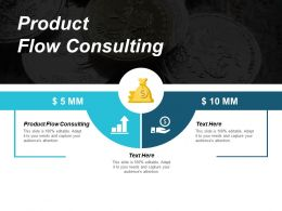 Product Flow Consulting Ppt Powerpoint Presentation Pictures Brochure Cpb