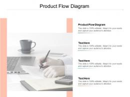 Product Flow Diagram Ppt Powerpoint Presentation Infographics Graphics Pictures Cpb