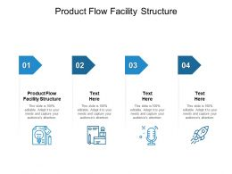 Product Flow Facility Structure Ppt Powerpoint Presentation Show Deck Cpb