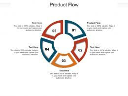 Product Flow Ppt Powerpoint Presentation Outline Show Cpb