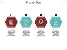 Product Flow Ppt Powerpoint Presentation Portfolio Skills Cpb