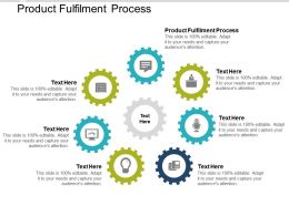 Product Fulfilment Process Ppt Powerpoint Presentation Show Example Introduction Cpb
