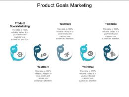 Product Goals Marketing Ppt Powerpoint Presentation Summary Example Cpb