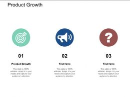 Product Growth Ppt Powerpoint Presentation Summary Graphics Cpb