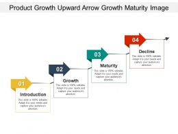 Product Growth Upward Arrow Growth Maturity Image