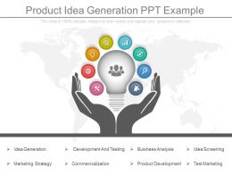 Product Idea Generation Ppt Example