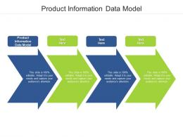 Product Information Data Model Ppt Powerpoint Presentation Outline Structure Cpb
