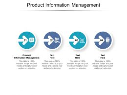 Product Information Management Ppt Powerpoint Presentation Styles Graphics Cpb