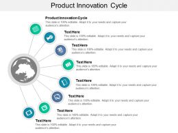Product Innovation Cycle Ppt Powerpoint Presentation Styles Guide Cpb