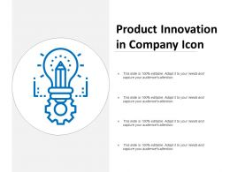 Product Innovation In Company Icon