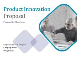 Product Innovation Proposal Powerpoint Presentation Slides
