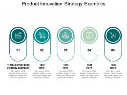 Product Innovation Strategy Examples Ppt Powerpoint Presentation Layouts Shapes Cpb