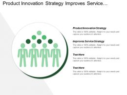 Product Innovation Strategy Improves Service Strategy Pricing Analysis
