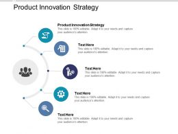 Product Innovation Strategy Ppt Powerpoint Presentation Model Information Cpb