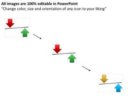 Product Input And Output Balance Powerpoint Template