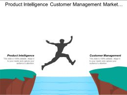 Product Intelligence Customer Management Market Understanding Executives Development