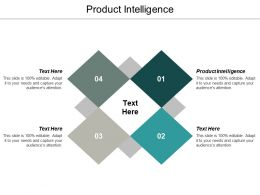 Product Intelligence Ppt Powerpoint Presentation Styles Demonstration Cpb