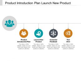 Product Introduction Plan Launch New Product Customer Feedback Cpb