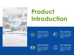 Product Introduction Ppt Sample Presentations