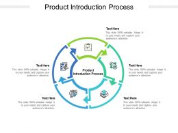 Product Introduction Process Ppt Powerpoint Presentation Ideas Outfit Cpb