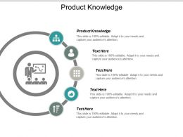 Product Knowledge Ppt Powerpoint Presentation Gallery Guidelines Cpb