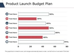 Product Launch Budget Plan Ppt Styles Files