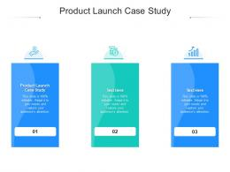 Product Launch Case Study Ppt Powerpoint Presentation Layouts Guide Cpb