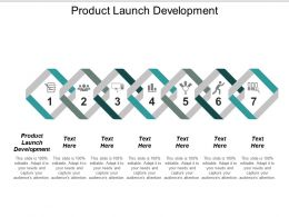 Product Launch Development Ppt Powerpoint Presentation Icon Shapes Cpb