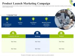Product Launch Marketing Campaign Creating Successful Integrating Marketing Campaign