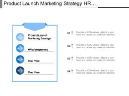 Product Launch Marketing Strategy Hr Management Public Relations Cpb
