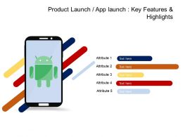 Product Launch Or App Launch Introduction Features