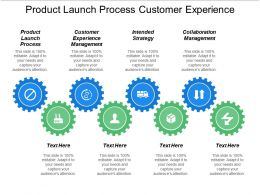 Product Launch Process Customer Experience Management Intended Strategy Collaboration Management Cpb