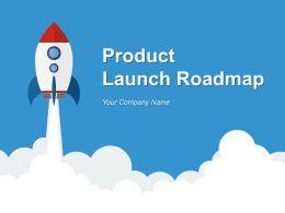 Product Launch Roadmap PowerPoint Presentation Slides