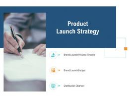 Product Launch Strategy Unique Selling Proposition Of Product Ppt Template