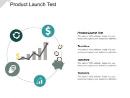 Product Launch Test Ppt Powerpoint Presentation Icon Show Cpb