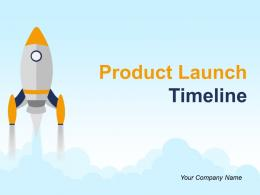 Product Launch Timeline Powerpoint Presentation Slides