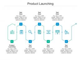 Product Launching Ppt Powerpoint Presentation Gallery Deck Cpb