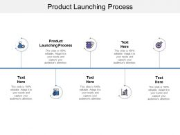 Product Launching Process Ppt Powerpoint Presentation Infographics Styles Cpb